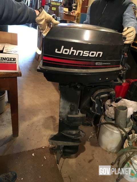 Johnson J30RLENR Outboard Motor in Hermleigh, Texas, United