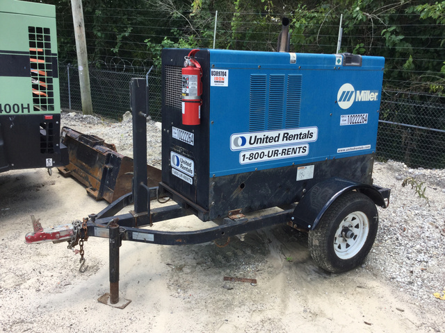 Miller Welders For Sale >> Miller Big Blue 500d Engine Driven Welder