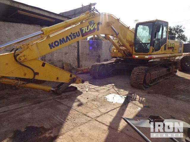 Komatsu PC300LC-8 Hydraulic Excavator Specs & Dimensions