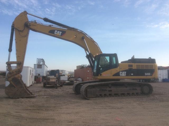 2007 Cat 345CL Track Excavator