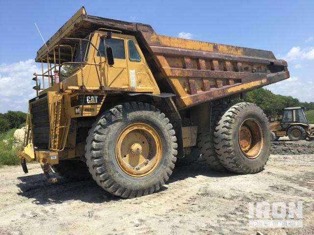 End Dump Truck >> Cat 777b Off Road End Dump Truck