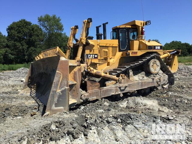Cat D11R Crawler Dozer, Crawler Tractor