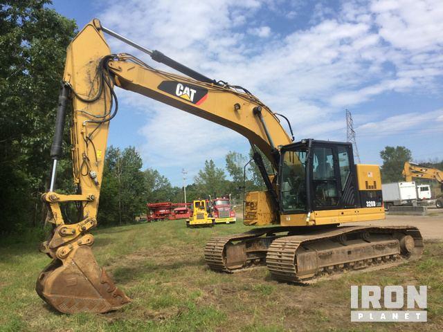 2014 Cat 328DLCR Track Excavator