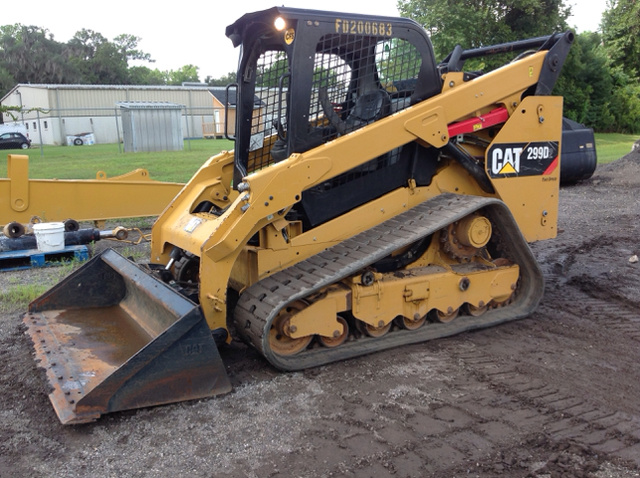 2016 Cat 299D2 Compact Track Loader