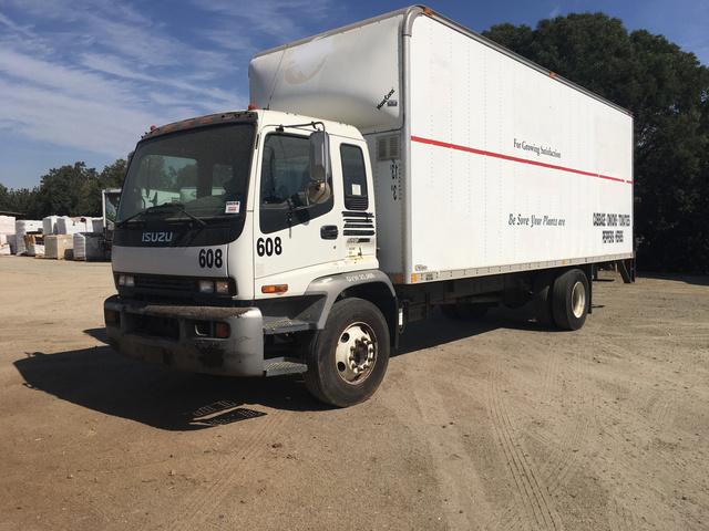 2006 Isuzu T7F042-FVR Cargo Truck