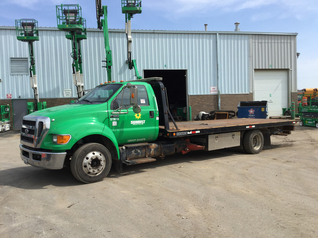 2013 Ford F-650 Super Duty S/A Rollback