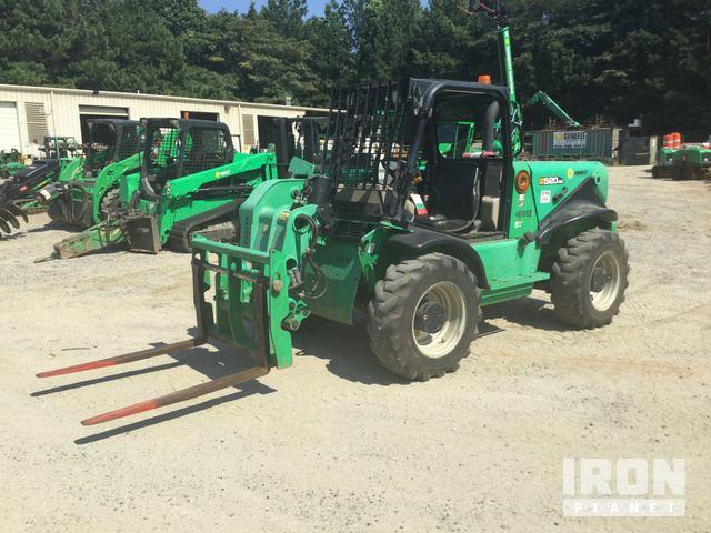 JCB 520-50 Telescopic Forklift Specs & Dimensions