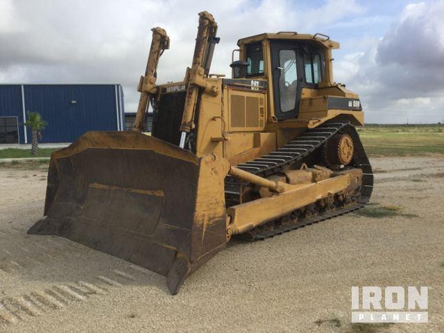Caterpillar D8N Crawler Tractor Specs & Dimensions