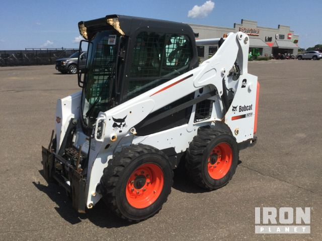 2015 Bobcat S570 Skid Steer Loader In Hudson Wisconsin