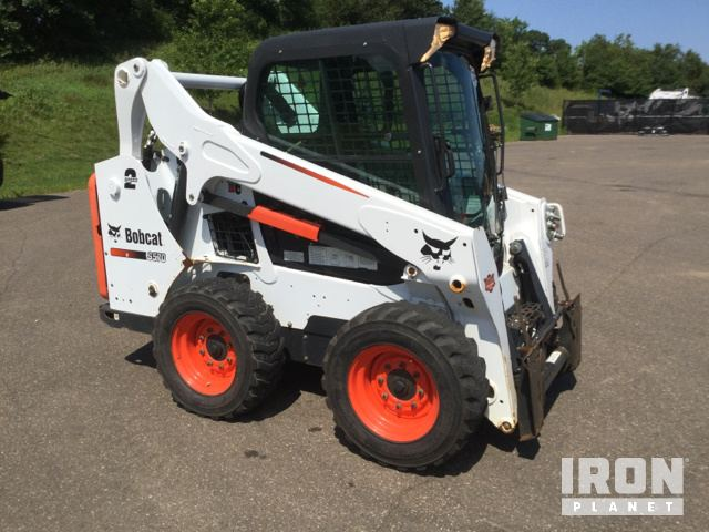 2015 Bobcat S570 Skid-Steer Loader in Hudson, Wisconsin