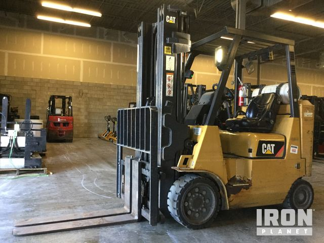 Caterpillar GC40K STR Forklift Specs & Dimensions
