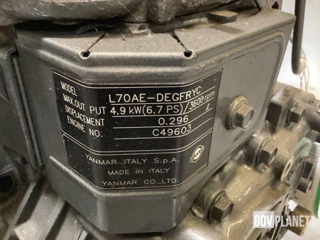 Yanmar L70AE-DEGFRYC Diesel Engine