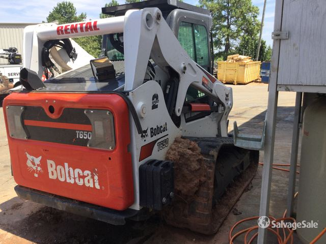 2018 Bobcat T650 Compact Track Loader in Piedmont, South