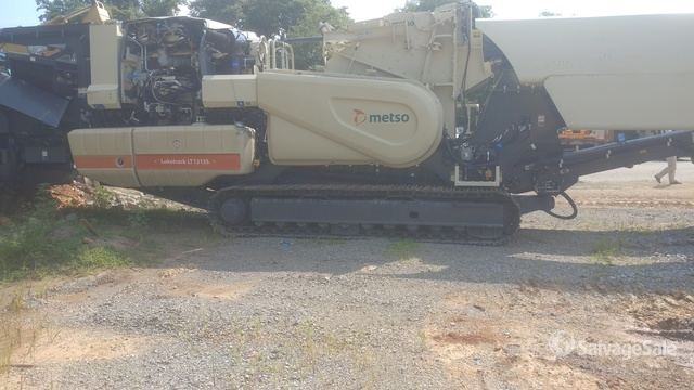 2020 Metso Lokotrack LT1215S Tracked Mobile Cone Crusher in