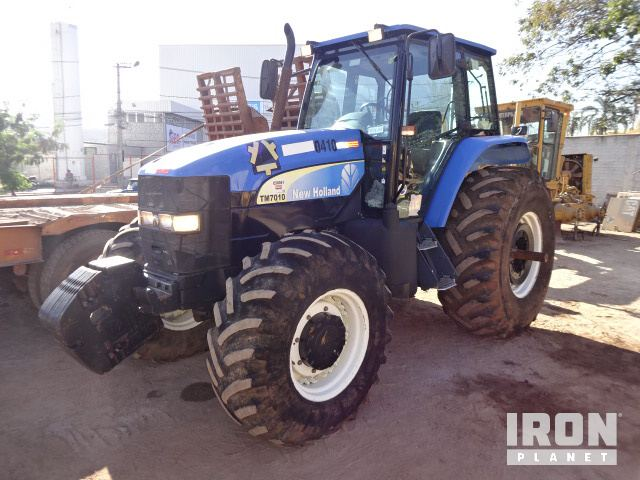 New Holland TN75DA 4WD Tractor Specs & Dimensions