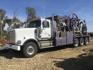 Lastbiler til olie- og gas