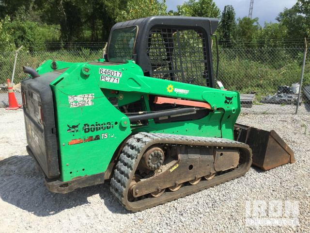 2014 Bobcat T550 Compact Track Loader in Cookeville
