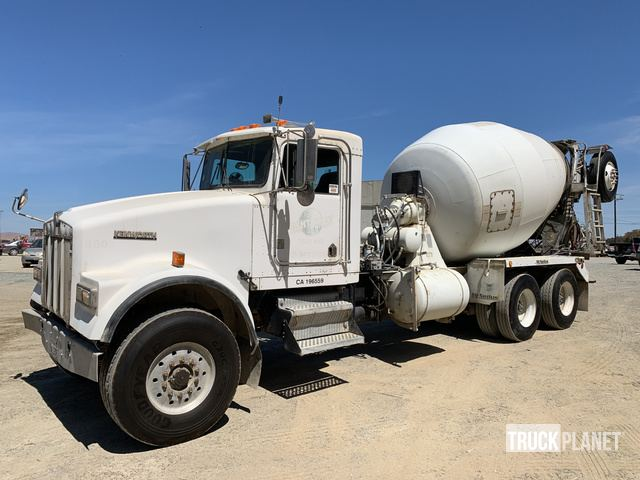 1999 Kenworth W900 T/A Mixer Truck in Stockton, California ... on