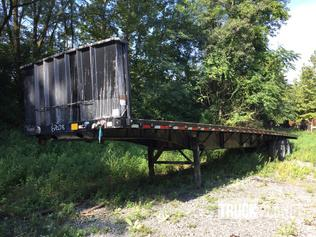 1990 Fontaine T/A Flatbed Trailer