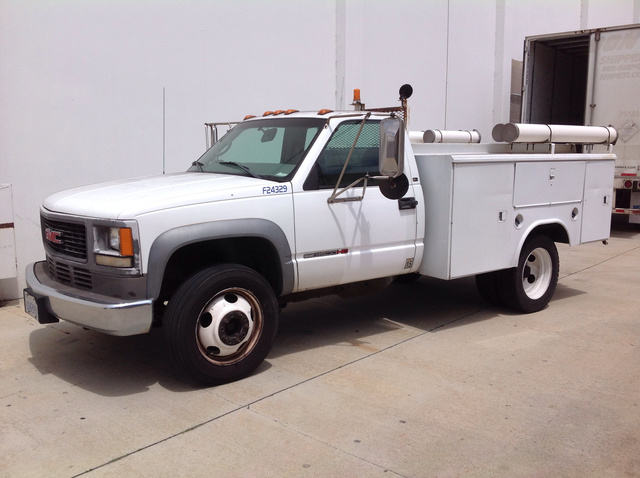 Utility Trucks For Sale >> 2000 Gmc Sierra C3500hd S A Utility