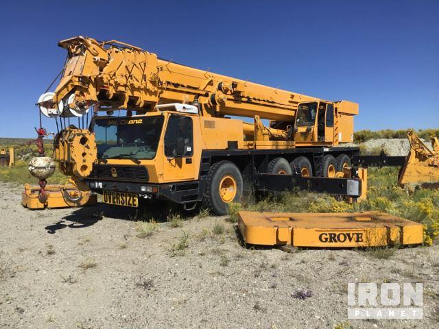 1997 Grove GMK5160 All Terrain Crane, All Terrain Crane