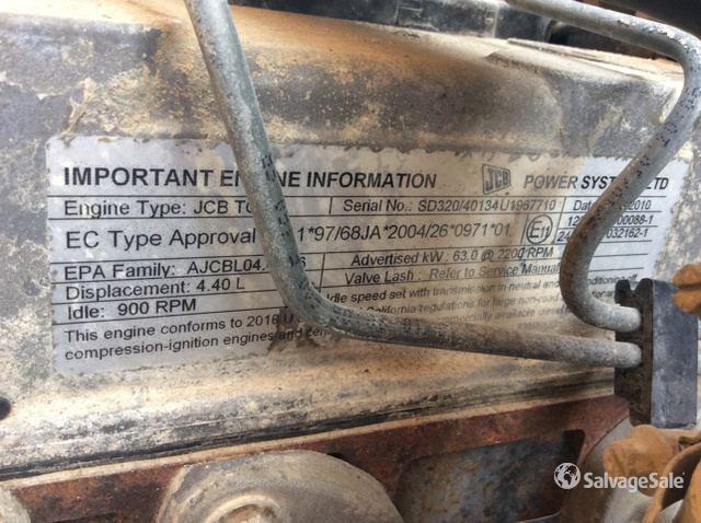 2011 (unverified) JCB 930 Rough Terrain Forklift