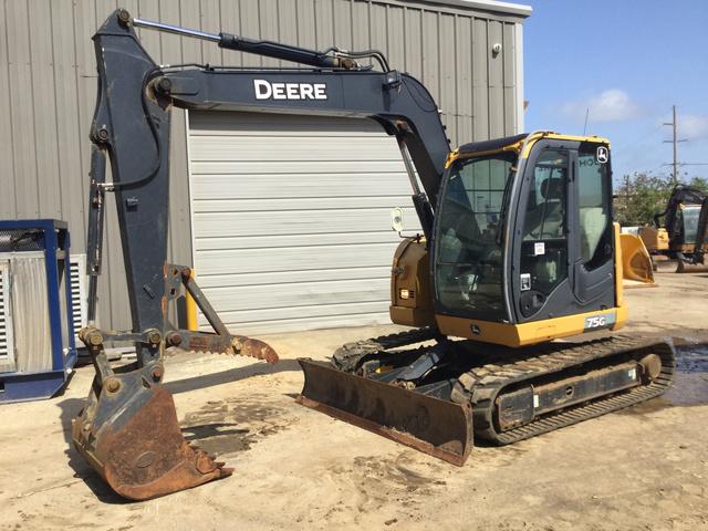2014 John Deere 75G Mini Excavator