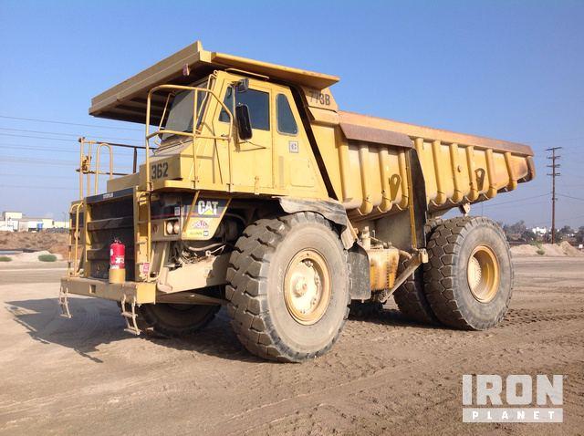 End Dump Truck >> Cat 773b Off Road End Dump Truck