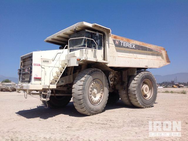 End Dump Truck >> 2005 Terex Tr100 Off Road End Dump Truck