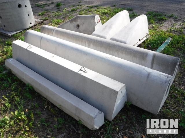 Lot of Concrete Barriers in Burns Lake, British Columbia