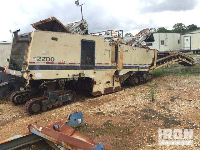 Ingersoll-Rand Pro Cut 2200 Cold Planer, Cold Planer