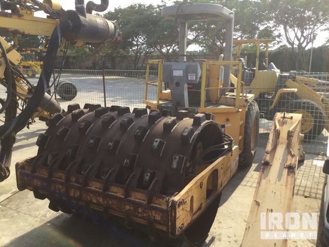 2010 Volvo SD100DC Vibratory Single Drum Compactor, Vibratory Padfoot Compactor