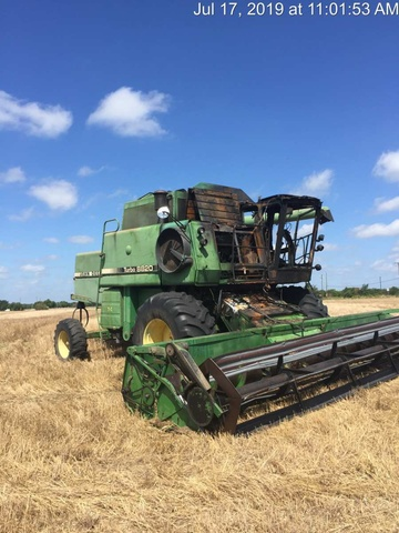 Combine Harvesters For Sale in Auctions  SalvageSale
