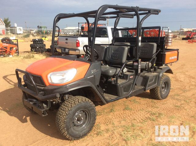 2019 (unverified) Kubota RTV-X1140 4x4 Utility Vehicle in