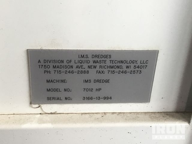 Dredge Serial Number