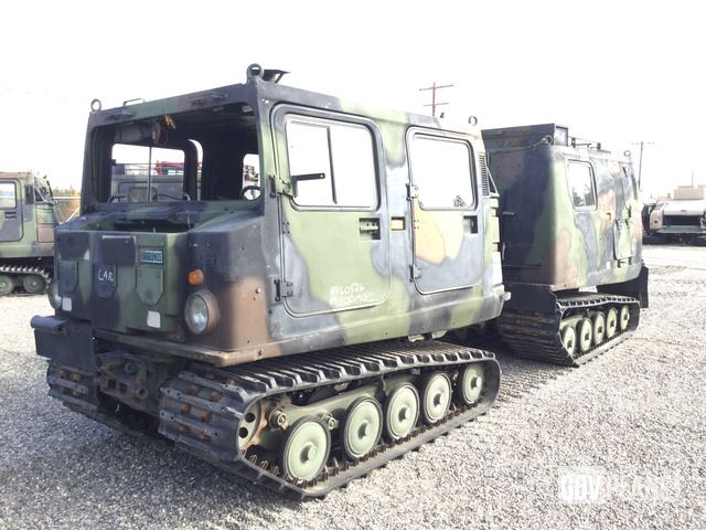 Surplus Hagglunds BV 206 D Cargo Carrier in Fort Wainwright ...
