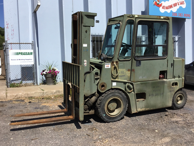 Pneumatic Tire Forklifts For Sale | IronPlanet