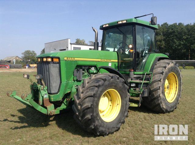 1997 John Deere 8100 4WD Tractor, MFWD Tractor
