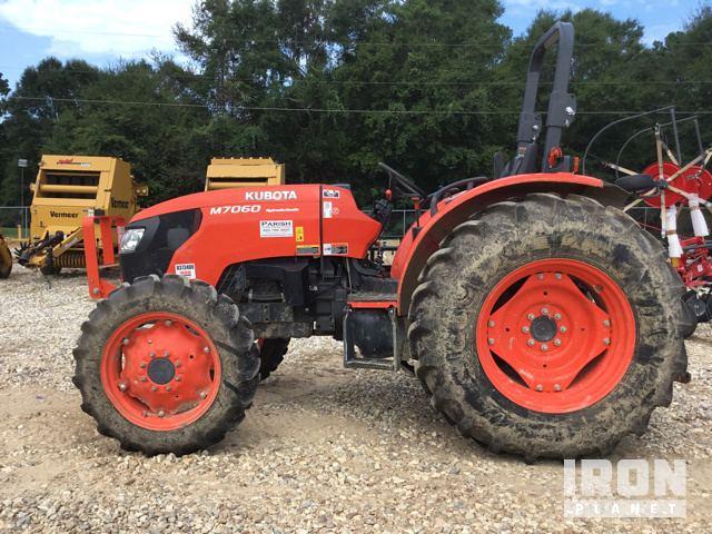 Surplus 2018 Kubota M7060D 4WD Tractor in Poplarville