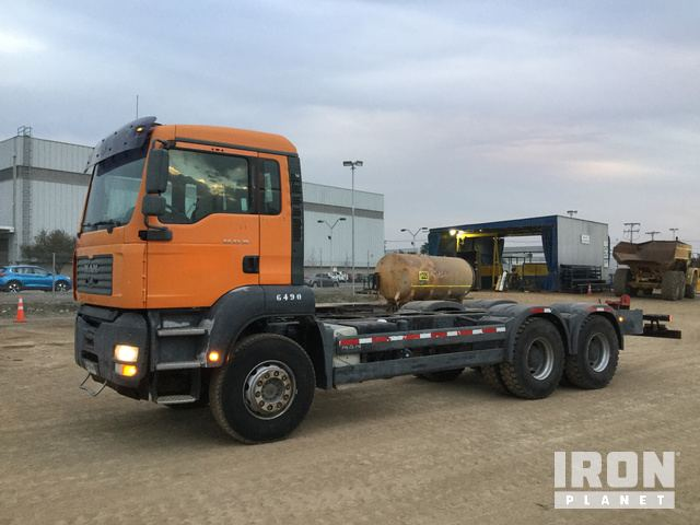 2006 MAN TGA 33.390 6x4 Cab & Chassis, Cab & Chassis