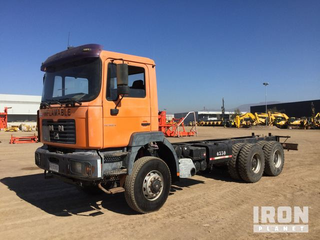 2001 MAN 33.364 6x4 Cab & Chassis, Cab & Chassis