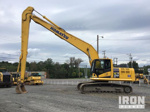 2013 Komatsu PC210LC-10 Track Excavator, Hydraulic Excavator