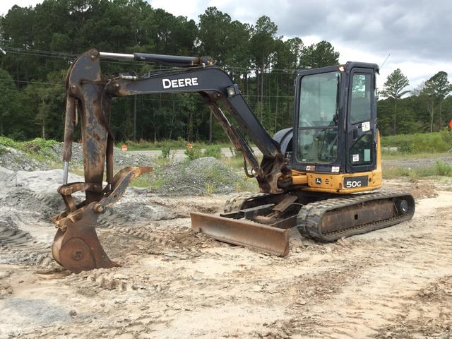 2014 John Deere 50G Mini Excavator