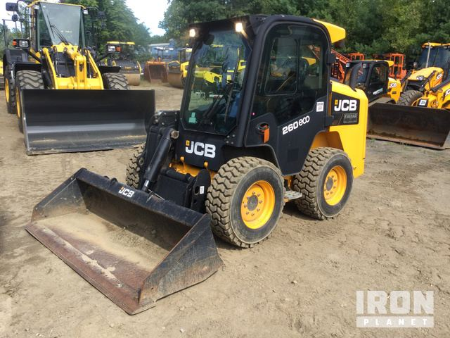 2013 JCB 260 ECO Skid-Steer Loader, Skid Steer Loader