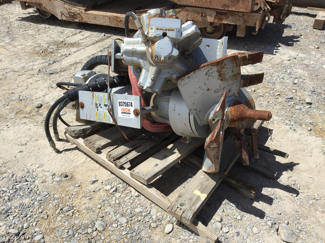 Lot of (2) Mixing Auger Attachments