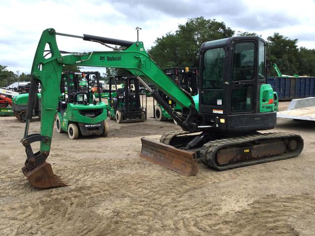 2012 Bobcat E50M Mini Excavator