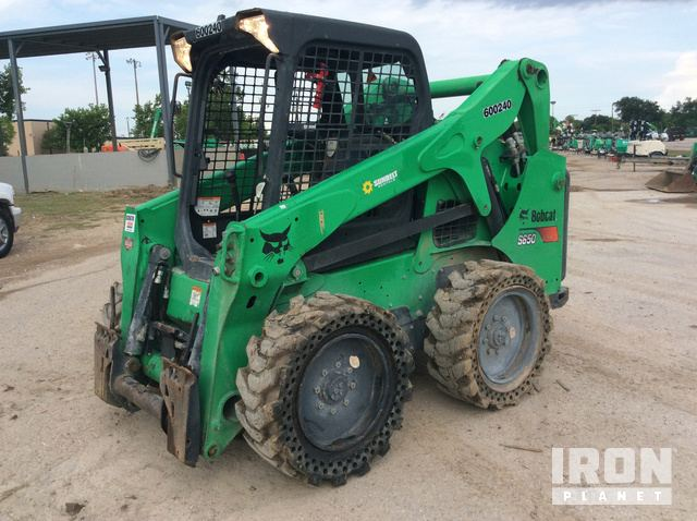 2014 Bobcat S650 Skid-Steer Loader in Webster, Texas, United