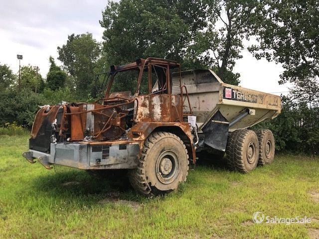 Terex TA30 Articulated Dump Truck Specs Dimensions