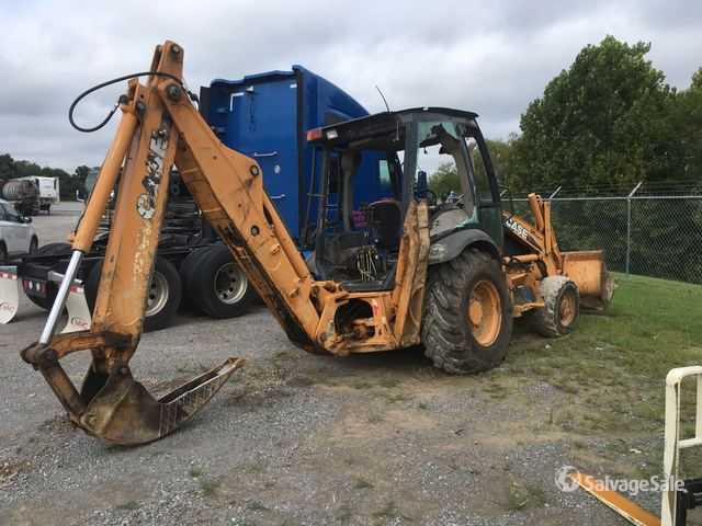 2010 (unverified) Case 580 Super M Series 3 4x4 Backhoe