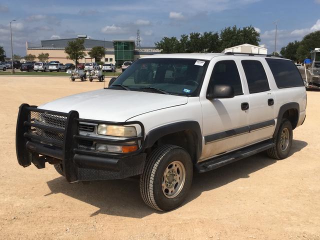 2002 Chevrolet K2500 4x4 Suburban